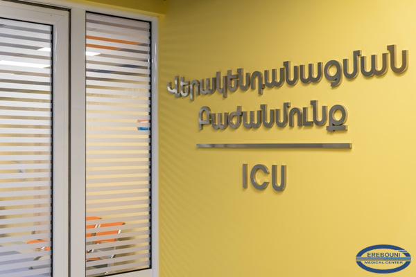 As part of the fight against COVID-19, a new intensive care unit was opened in MC Erebouni
